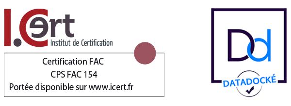 Le Groupe Alternance est certifié FAC et Datadock