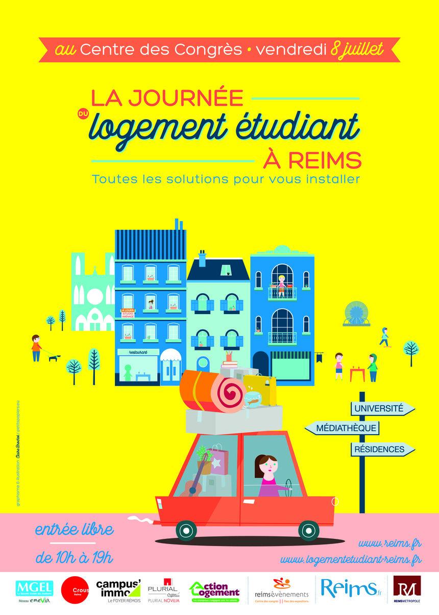 Journée logement étudiant à Reims